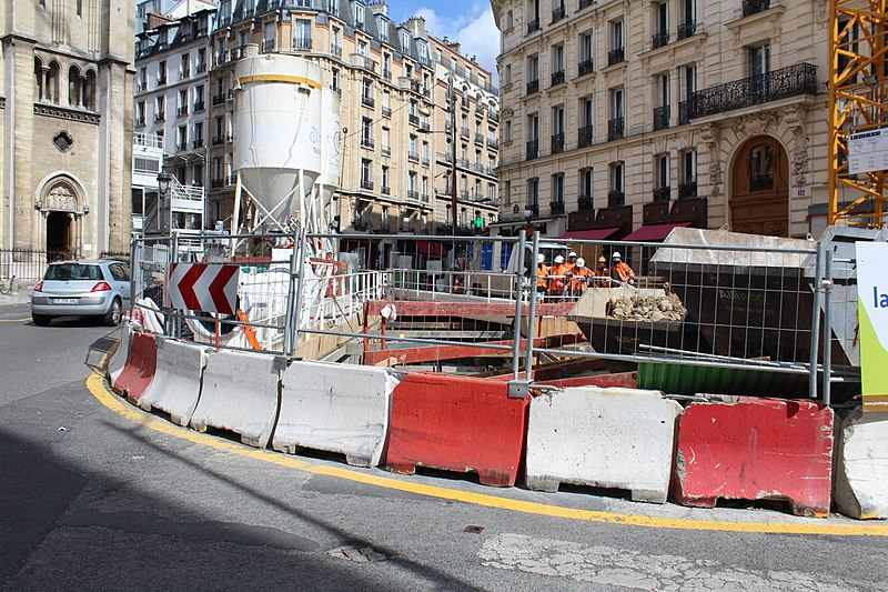 Chantier à Paris