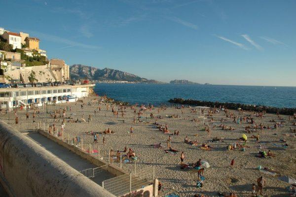 Plage des Catalans, Marseille